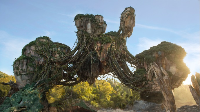 Pandora The World of Avatar. Foto Walt Disney World.