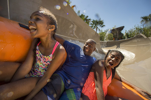 Miss Adventure Falls, nueva atracción de Typhoon Lagoon de Disney. Photo Walt Disney World.