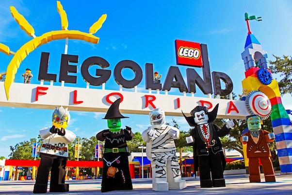 Halloween en Legoland es Brick or Treat. Foto Legoland Florida Resort.