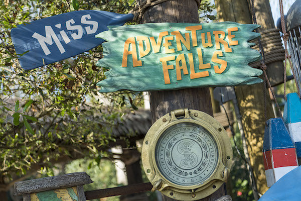 Miss Adventure Falls nueva atracción de Typhoon Lagoon de Disney. Photo Walt Disney World.
