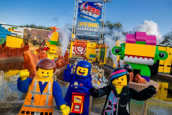 The Lego Movie World. Foto Legoland Florida Resort.