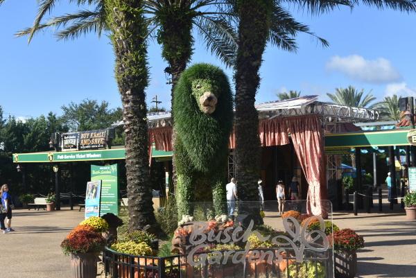 Entrada a Busch Gardens Tampa Bay. Foto Gregorio Mayi.
