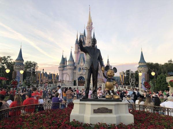 Castillo de la Cenicienta en Magic Kingdom de Disney. Foto Gregorio Mayi.