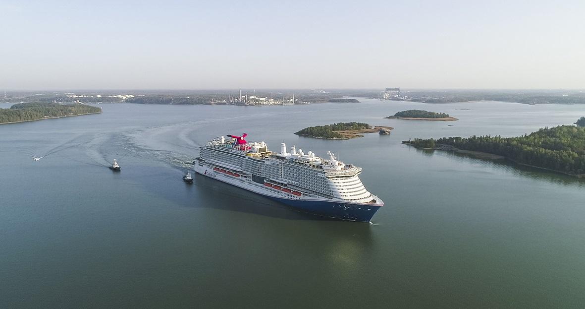El Carnival Mardi Gras es el barco más nuevo de Carnival Cruise Line. Foto Carnival Cruise Line.