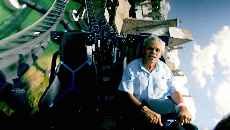VelociCoaster, la nueva montaña rusa de Universal Orlando en Islands of Adventure.